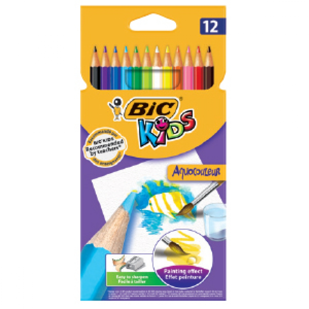 BIC WATERCOLOUR COLOURING AQUACOULEUR