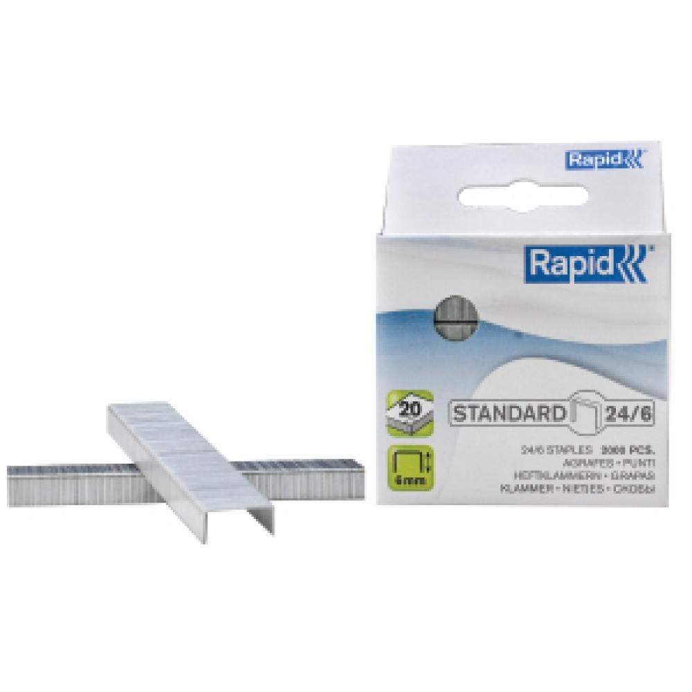 RAPID  STAPLES 6/24 2000 PCS