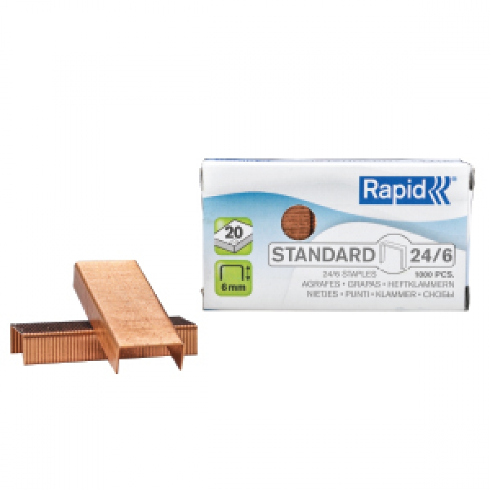 RAPID  STAPLES 6/24 1000 PCS