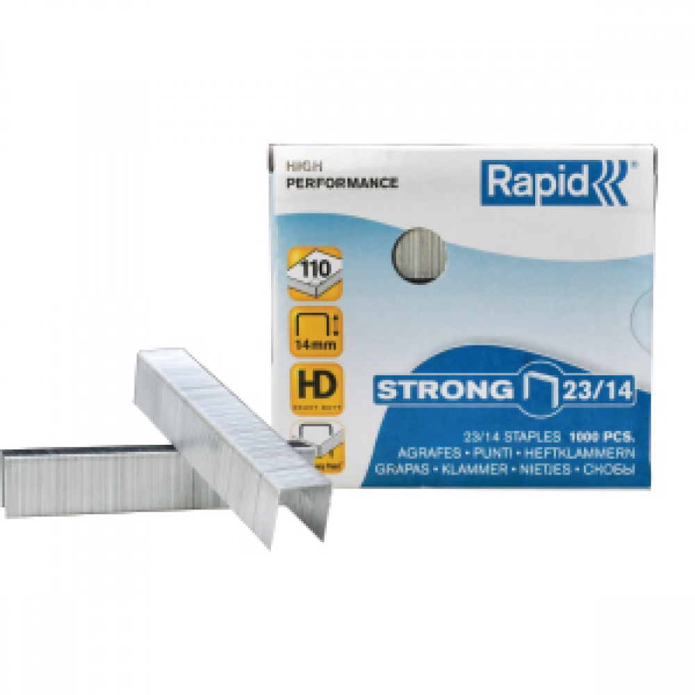 RAPID  STAPLES 14/23 1000 PCS