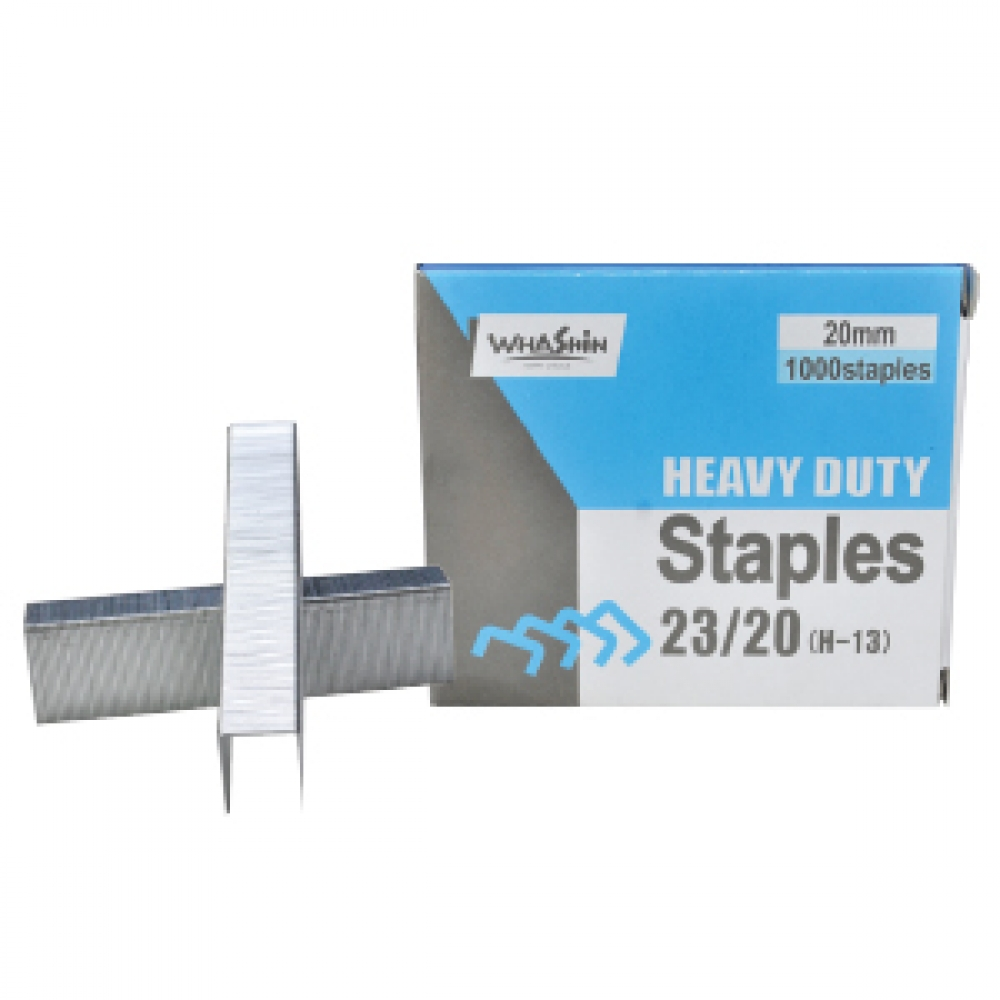 WHASHIN STAPLES 20/23  1000 PCS
