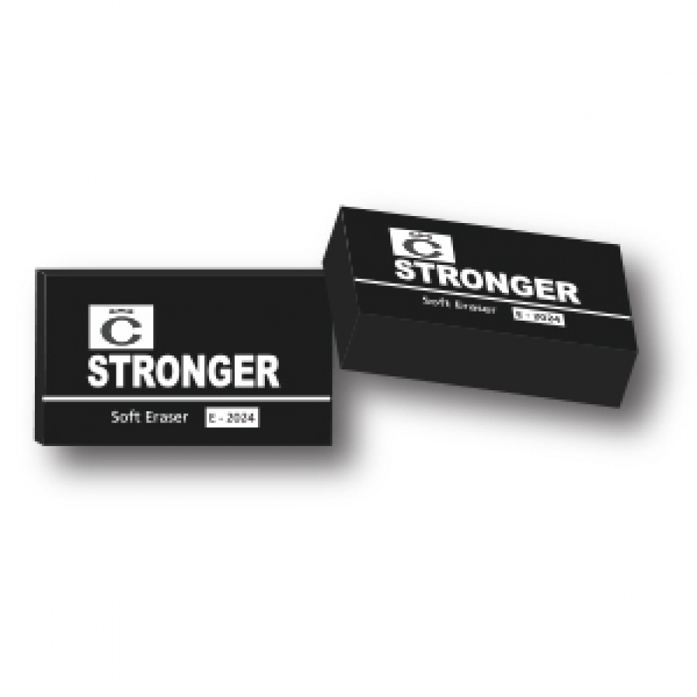 STRONGER SOFT ERASER 2024