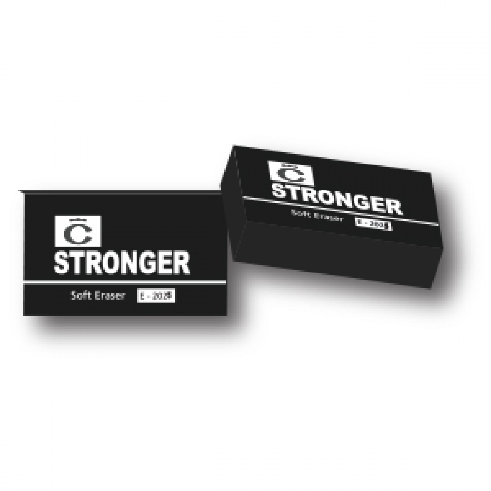 STRONGER SOFT ERASER 2025