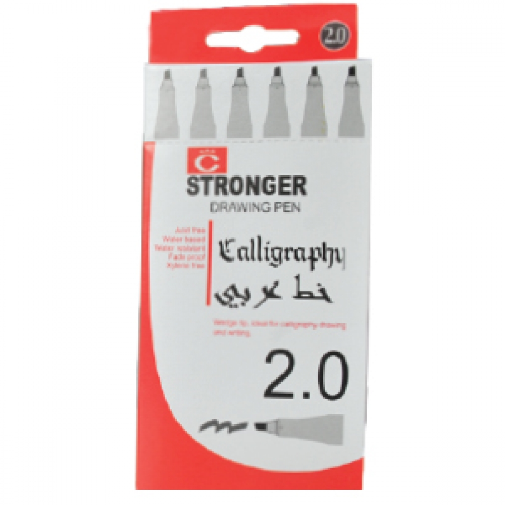 STRONGER CALLIGRAPHY