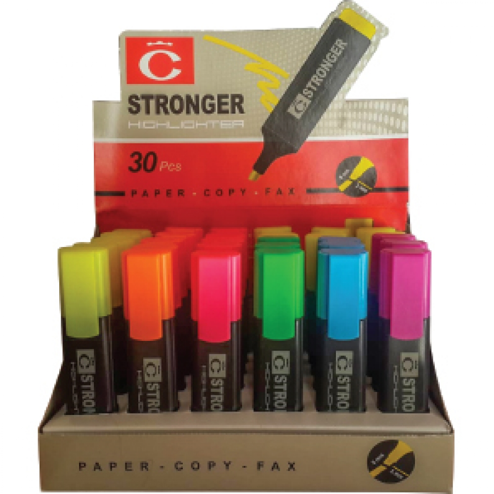 STRONGER STAND HIGHLIGHTER MARKER