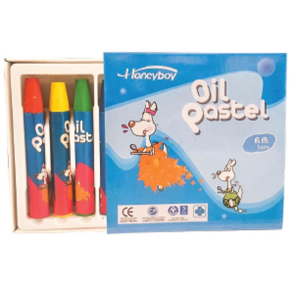STRONGER HEXAGONAL OIL  PASTEL 6 COLORS