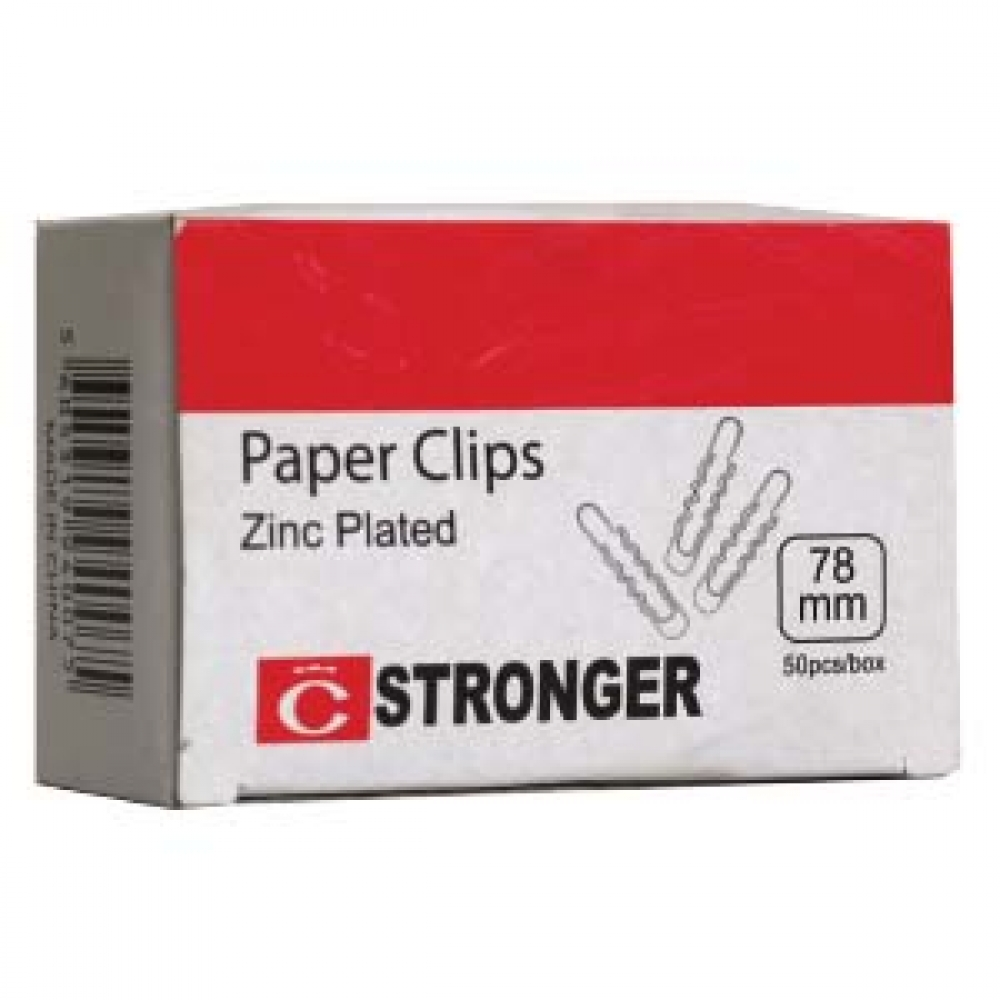 STRONGER PAPER CLIPS 78 MM